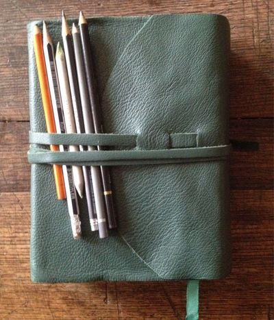 Leather Wrap a Purchased Journal: Another
